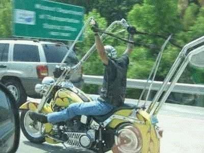 Nepatogus motociklas