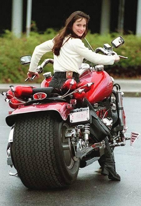 Platus motociklas