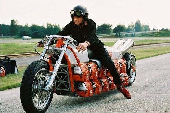 Galingas motociklas